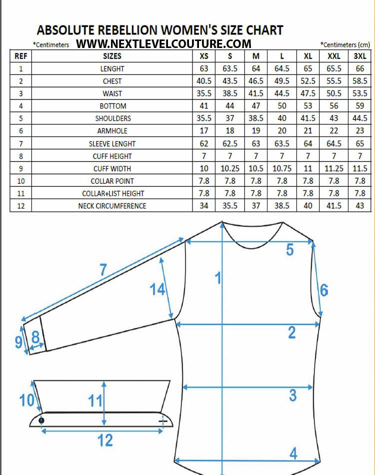 Size guide | eton shirts us.